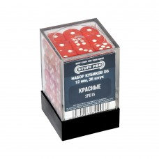 Набор кубиков STUFF PRO D6. Красные 12мм